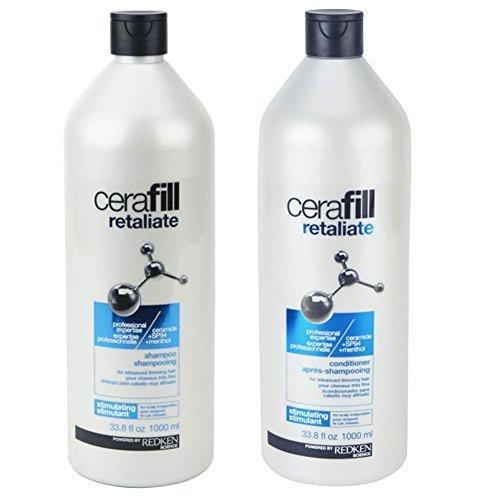 Redken Cerafill Retaliate Shampoo and Conditioner Duo 33.8 Ounce