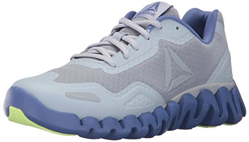 Reebok Women's Zigpulse Track Shoe,cloud grey/lilac shadow/electric flash,11.5 M US