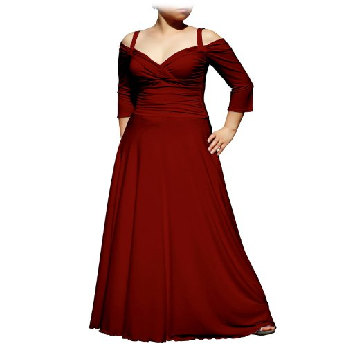 Amazon Evanese Womens Plus Size Elegant Long Formal Evening