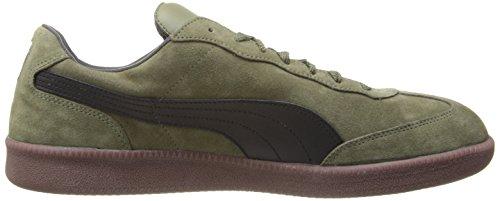 buy online 00739 c9cb2 PUMA Liga Suede Classic Sneaker,Burnt Olive/Black,10 D(M) US ...