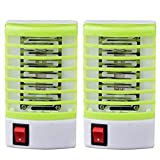 ★ ★ LED Socket Electric Mosquito Fly Bug Insect Trap Killer Zapper Night Lamp Lights Repellent for Home, Indoor, Outdoor, Bedroom, Kitchen