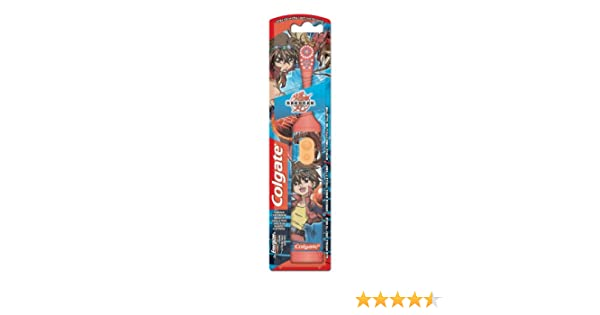 Amazon.com : Colgate Bakugan Kids Powered Toothbrush, (Pack of 3) : Beauty