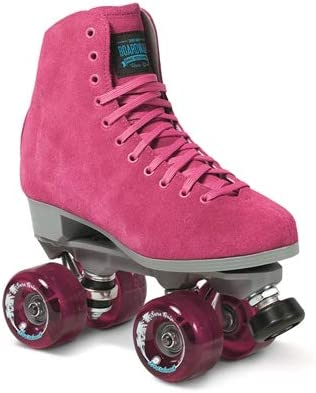 Sure-Grip Pink Boardwalk Skates Outdoor
