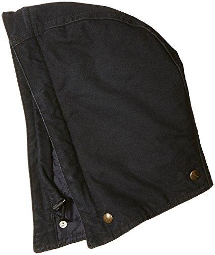 Carhartt Men's Quilt-Lined Sandstone Hood, Black, SM-XL