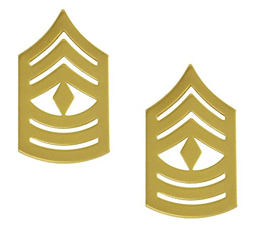 Marine Corps Enlisted Dress Gold Metal Insignia (FIRST SERGEANT)