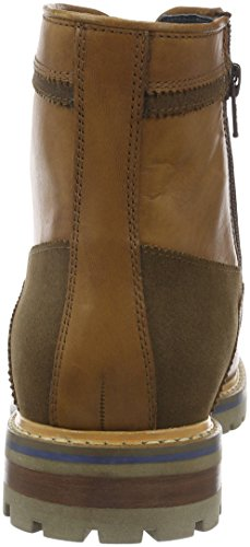 Sioux Sarik-Tex-lf, Botines para Hombre Marrón - Braun (Wood/Fango)