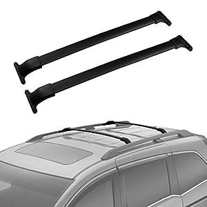 AUXMART Roof Rack Cross Bars Fit For Honda Odyssey 2011 2012 2013 2014 2015  2016 2017   132LBS / 60KG Capacity