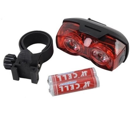 [Bicycle Light Set Super Bright 2 LED Taillight, Quick-Release RPL2230] (Red Fanta Girl Costume)