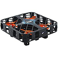 Fancywhoop 2.4Ghz Micro Quadcopter Box with Wifi FPV Camera 6-Axis Gyro 4CH Super Mini RC Drone Altitude Hold Headless Mode