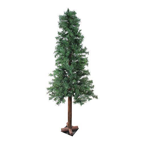 NORTHLIGHT GB YNT716-GR 6' Traditional Mixed Green Woodland