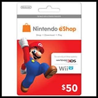 Nintendo Eshop Prepaid Card $50 for 3ds or Wii U (B00H7DDSCA) | Amazon price tracker / tracking, Amazon price history charts, Amazon price watches, Amazon price drop alerts