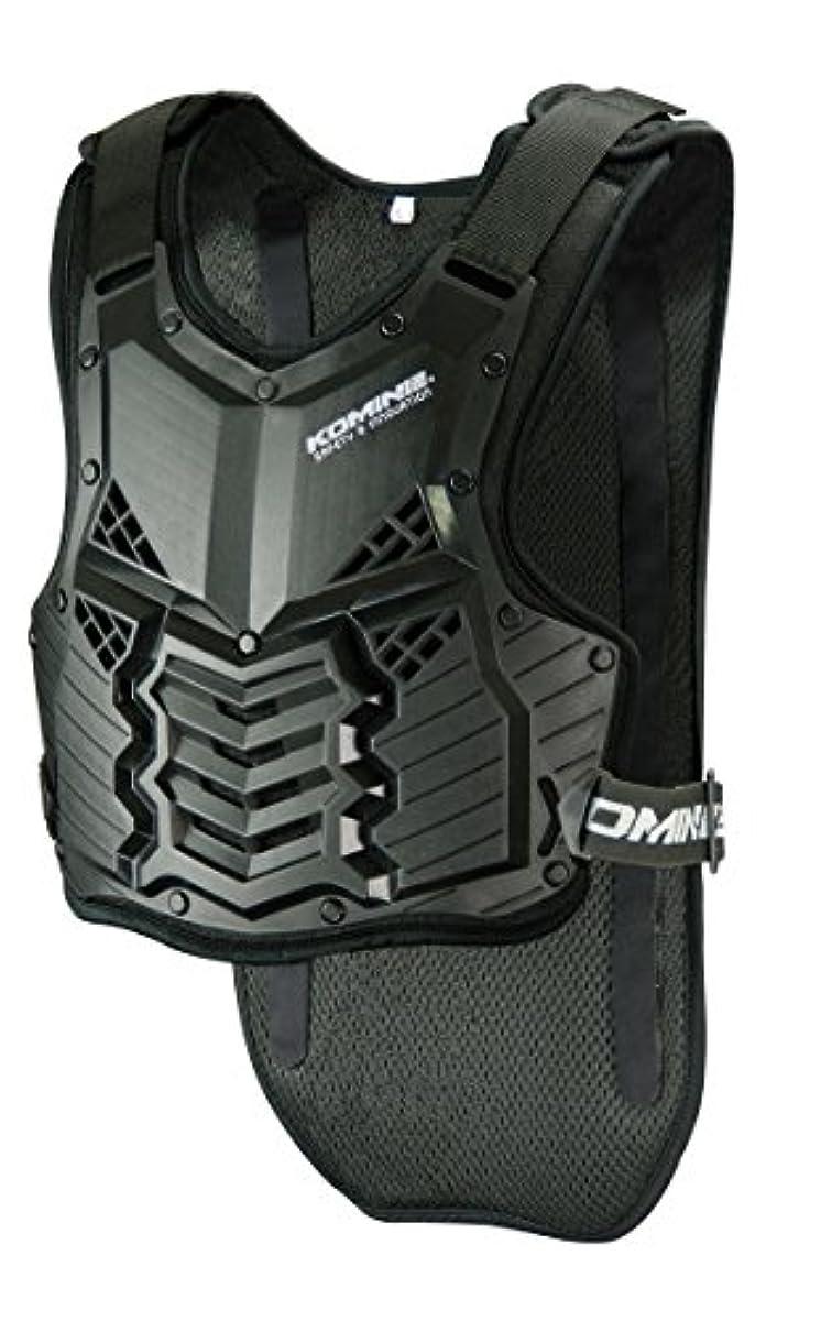 [해외] 코미네 KOMINE 오토바이 흉부 프로텍터 스푸리무 바디 프로텍터 블랙 XL 04-688 SK-688