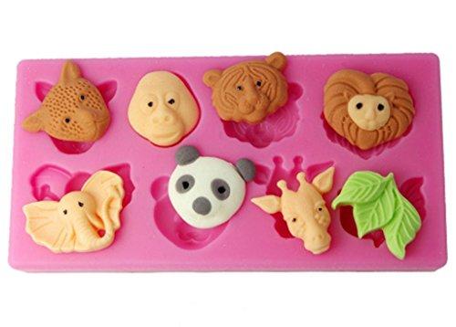 FOUR C Cupcake Forest Animals Sugarpaste