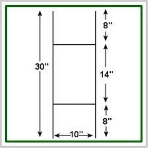 SIBE-R SUPPLY - 25 H-FRAME WIRE SIGN STAKES - SIGN NOT IN...