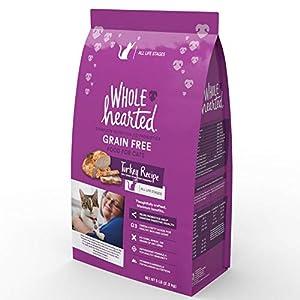 20. WholeHearted Grain Free Turkey Formula