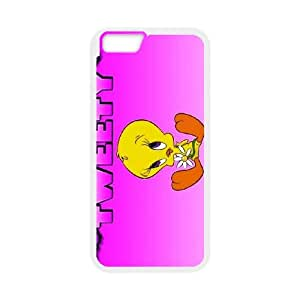 Tweety Bird iPhone 6 Plus 5.5 Inch Cell Phone Case White DIY Gift zhm004_0476202
