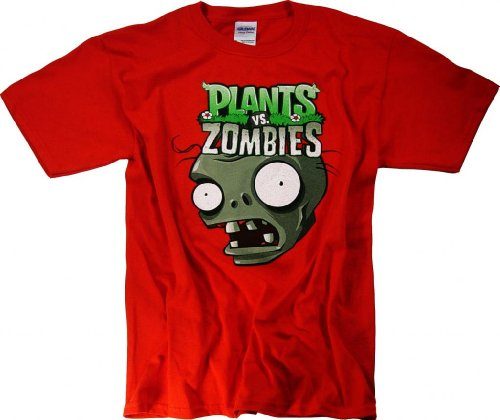 Plants vs Zombies 2 T-Shirt Youth Plush Toys Merchandise ...