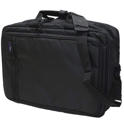 EXAS Mens A3 Size Attache Case Brief Case Black by EXAS Co.,Ltd.