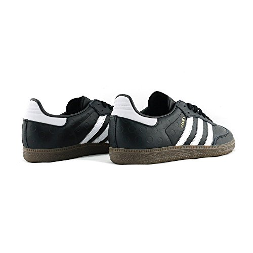 Ftwr W White de Femme Black Chaussures Gymnastique Core Samba Gum5 Noir adidas fzw1v