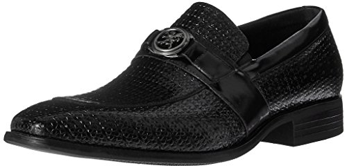Stacy Adams Mens Mocassino-moc Mocassino Slip-on Nero Mocassino