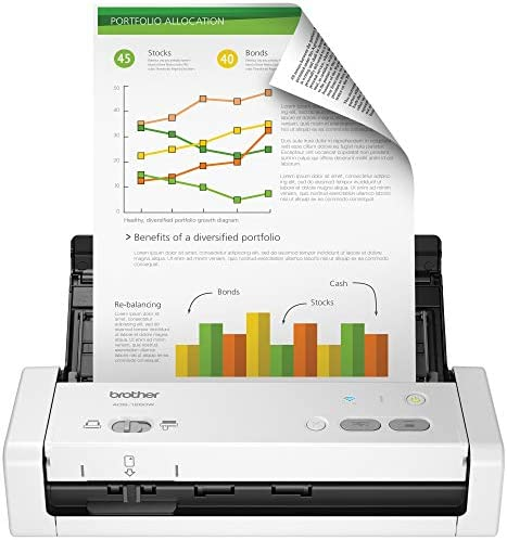 Brother ADS-1250W Wireless Compact Scanner