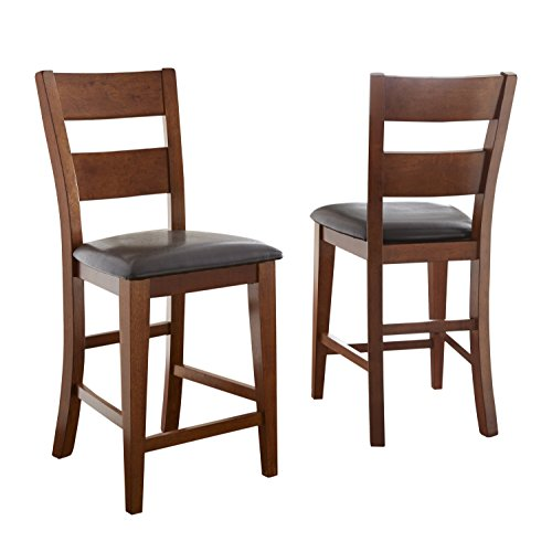 Steve Silver Company Mango Counter Chair, Set of 2 (Furniture Sets Mango Dining)