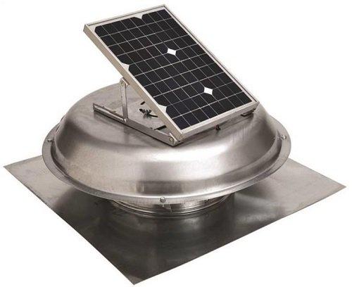 (Solar Power Vent Roof Mount)