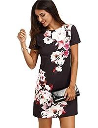 Vestidos De Fiesta Sexys Cortos Casuales Ropa De Moda Para Mujer De Noche Elegantes Negros VE0040