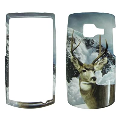 Nokia X2 T-Mobile - Deer Snow and Mountain Sceen Hard Case, Cover, Snap On, Faceplate from Bama