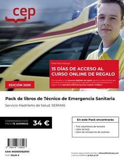 PACK LIBROS TECNICO EMERGENCIAS SANITARIAS SERMAS MADRID: Amazon.es: AA.VV: Libros