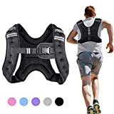 Henkelion Running Weight Vest for Men Women Kids Weights Included, Body Weight Vests for Training Workout, Jogging, Cardio, Walking - 12 Lbs
