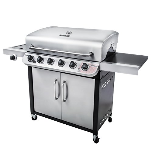char broil performance 650 6 burner cabinet liquid propane gas grill gas barbeque reviews. Black Bedroom Furniture Sets. Home Design Ideas