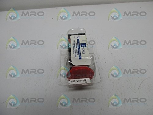 Turn to Reset RED ONLY FUJI Electric AR22V2R-02R Push to Lock