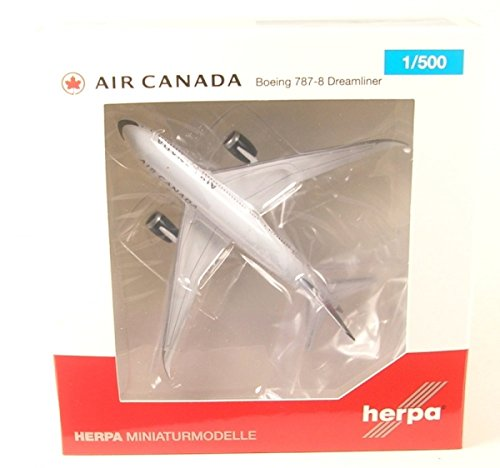 Herpa Wings 530613 Air Canada Boeing 787 8 New Colors 1 500 Scale Diecast Model