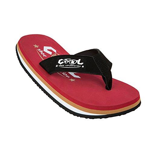CoolShoe - Original Strandschuh (Dusch-& Badeschuhe), Rot (Chili)
