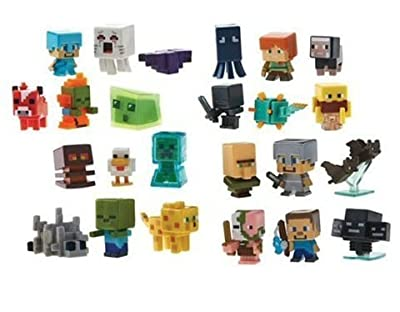 Minecraft Blind Box Minifigure Lot of 12 Figures
