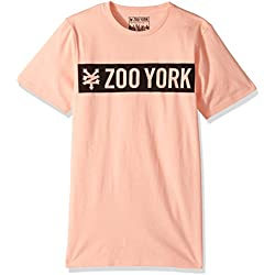 Zoo York Men's Short Sleeve Logo Tee, Straight Core Chai, Small