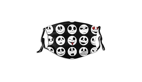 Colección De Caras De Halloween. Funda bucal Personalizada con ...