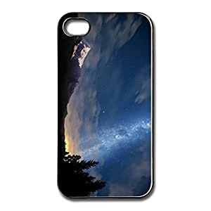 AOPO Phone Cover Case For IPhone 4/4s,Starry Night Sky Custom IPhone 4/4s Skin