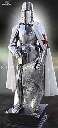 Amazon.com: Caballero Templario, Nauticalmart traje de ...