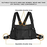 Radio Chest Harness Chest Front Pack Pouch Holster