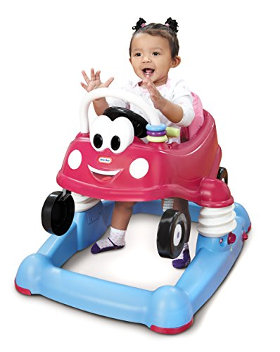 Little Tikes Princess Cozy Coupe 3-in-1 Mobile Entertainer, Pink