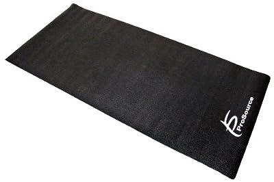 ProSource Discounts High Density PVC Floor Protector Treadmill Mat, 6.5 x 3-Feet