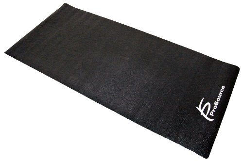 ProSource Discounts High Density PVC Floor Protector Treadmill Mat, 6.5 x 3-Feet