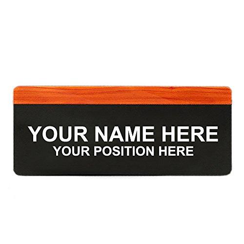 [해외]갈망 사용자 지정 주소 플 라크 하우스 호텔 학교 방 번호 기호 개인화 된 사무실 이름 플레이트 Arcylic 문 기호 벽 기호-우드 그레인 A-3.9 \\ / Aspire Customized Address Plaque House Hotel School Room Number Sign Personalized Office Name ...