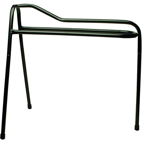 Roma Lightweight Collapsible Saddle Stand - Black