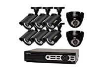 Q-see QTH16-8AK-2 16 Ch. HD Security System 8 HD 720p Cameras