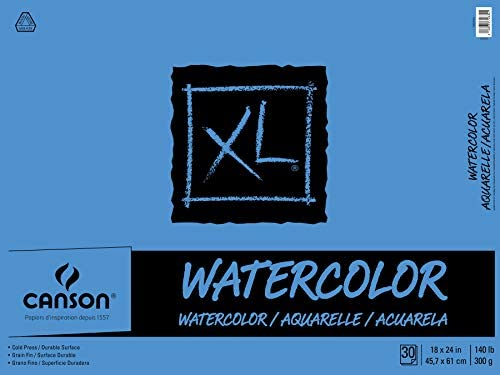 XL Watercolor Pad, 18X24 Fold Over by Canson