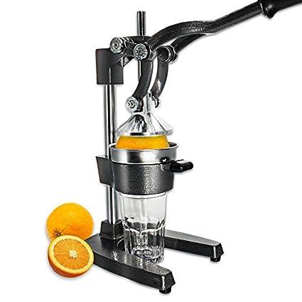 schramm® Profesional Gastro Naranja Prensa Profesional Palanca Función 6,2 kg de peso Exprimidor