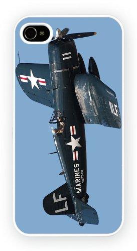 Vaught F4U Corsair History, iPhone 5 5S, Etui de téléphone mobile - encre brillant impression